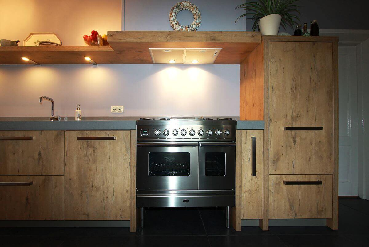 Keukenland Wijhe - Stoere keuken